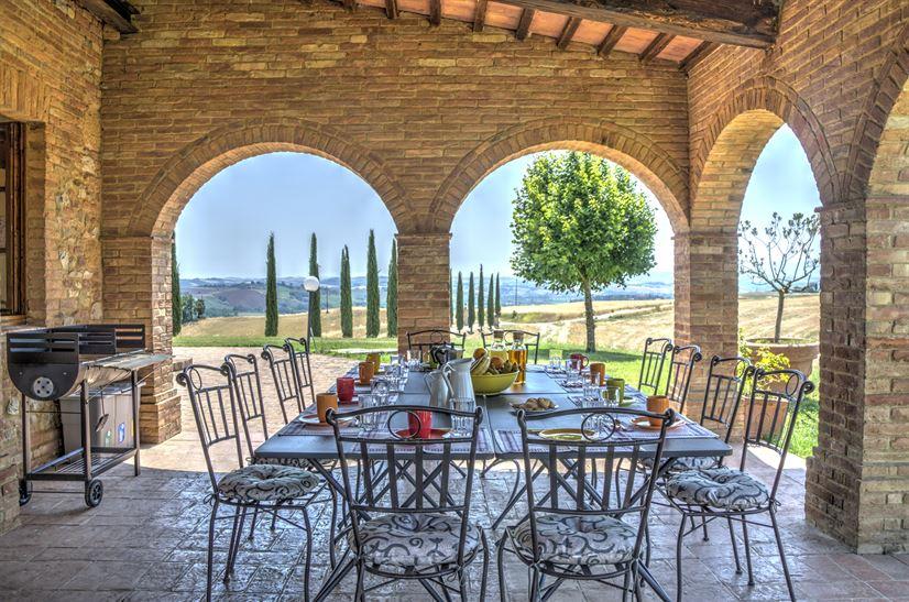 Villa bei SIENA bis 13 Personen - privater Pool