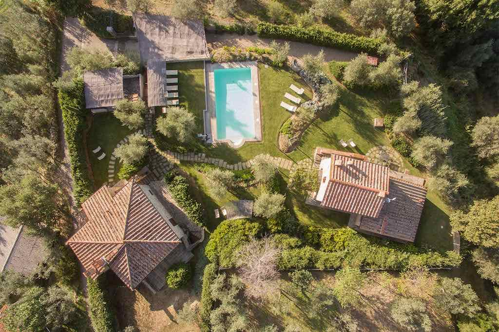 Toskana Anwesen mit privatem Pool bis 14 Personen