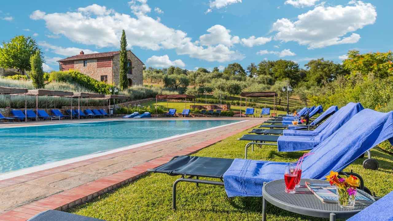 Ferienhaus Volpe Bucine 6 Pers. mit Pool