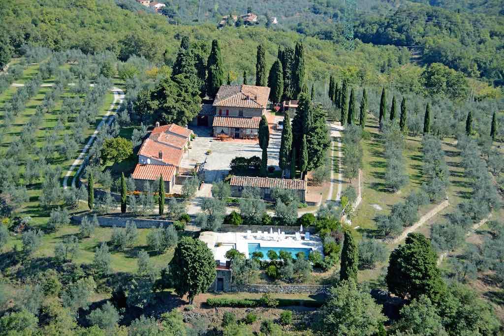 Kleines Landgut Chianti bis 12 Pers. privater Pool