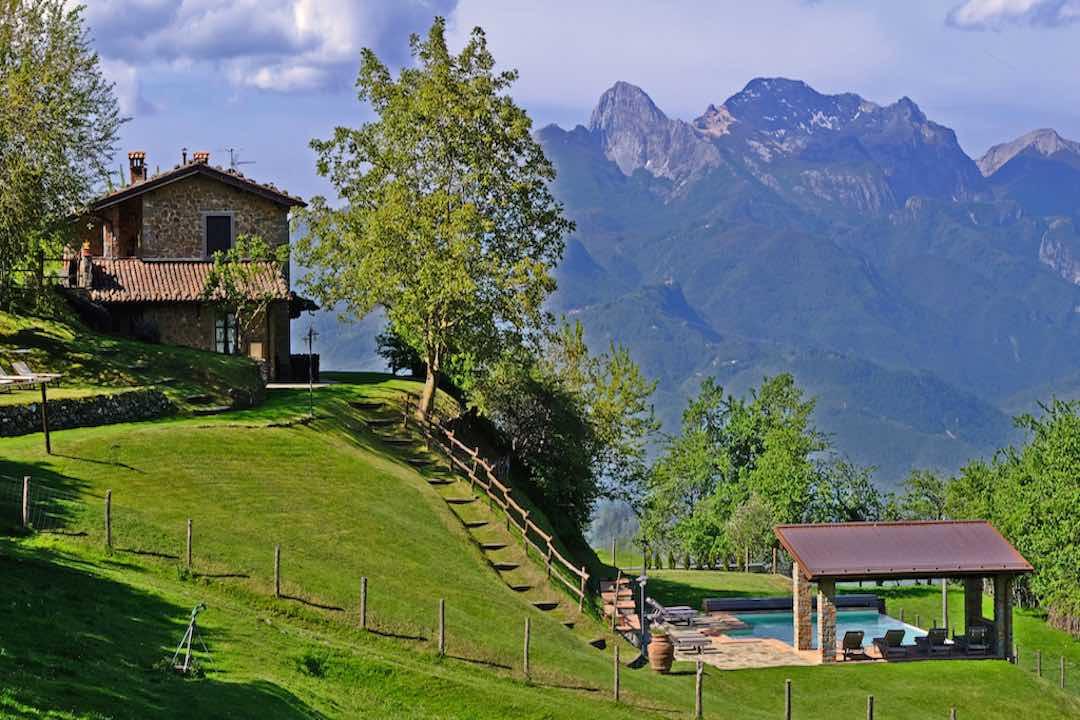 Ferienhaus Garfagnana bis 8 Pers. privater Pool
