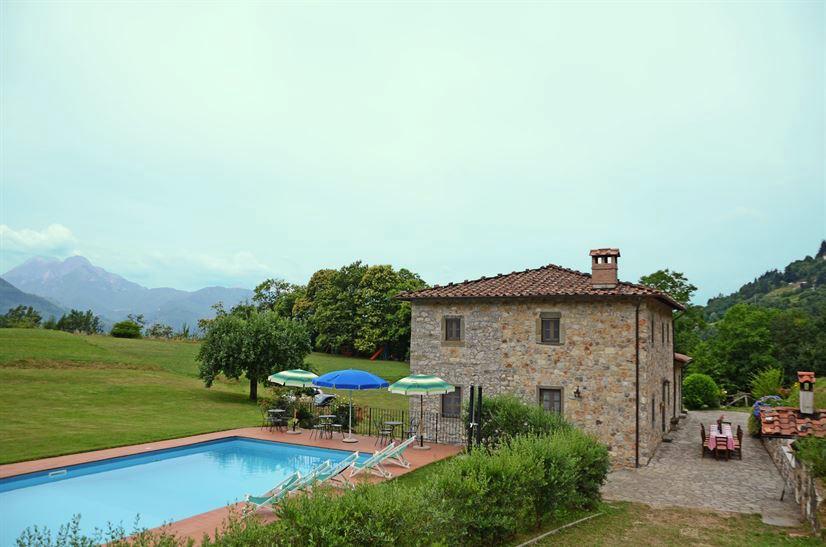 Ferienhaus Lucca bis 14 Pers. - privater Pool