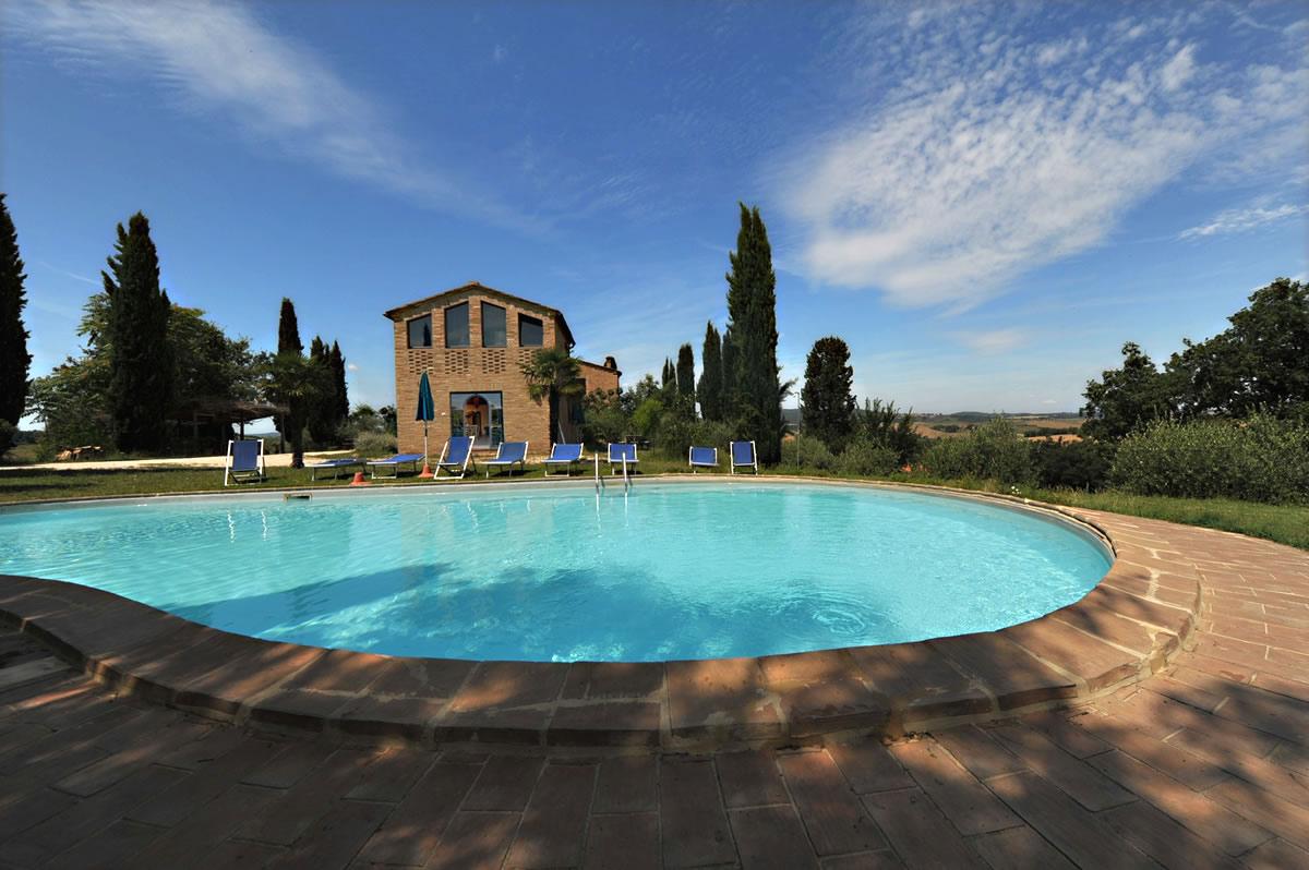 Ferienhaus Buonconvento 6 Pers. mit Pool