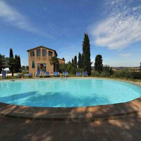 Ferienhaus Buonconvento mit Pool 6 Personen