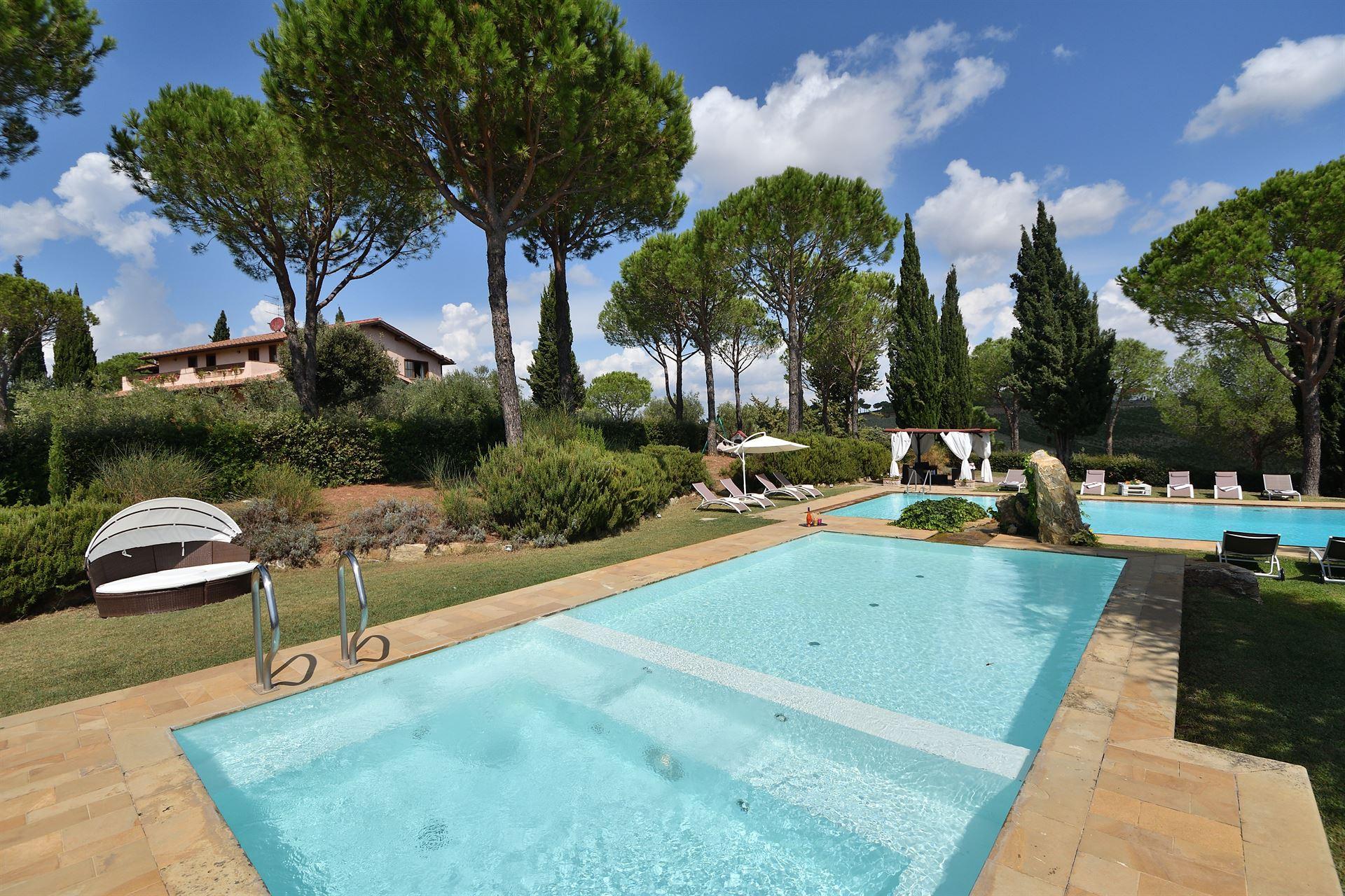 Villa mit Meernähe in der Toskana bis 12 Pers. - privater Pool