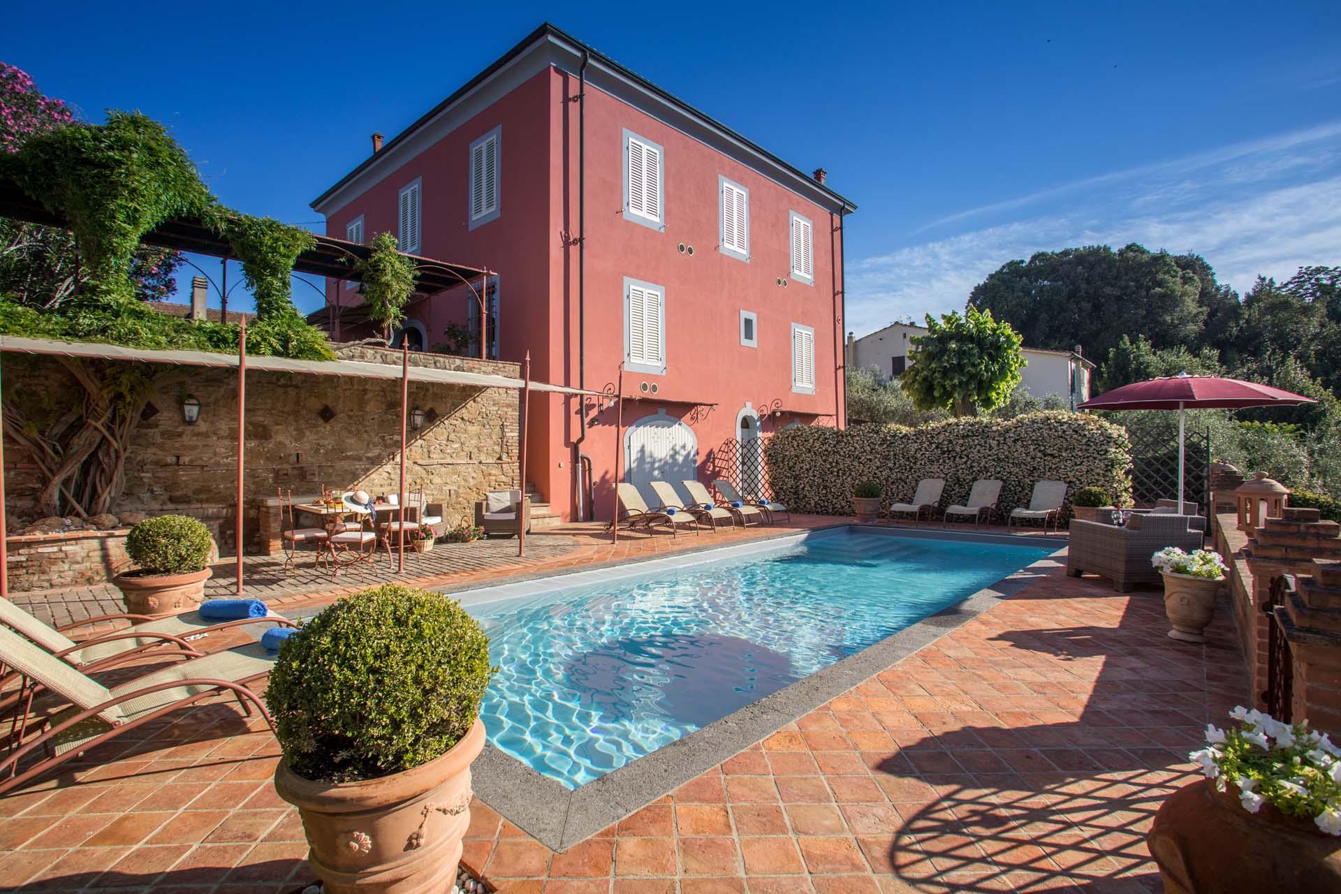 Ferienhaus Toskana Palazzo mit privatem Pool