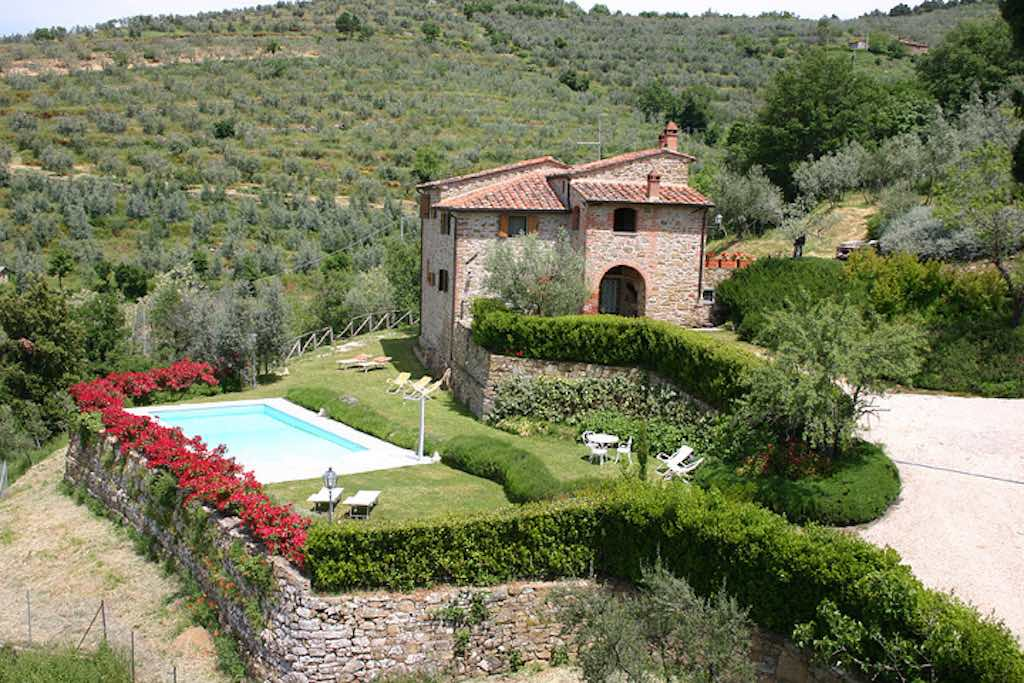 Villa Cortona bis 10 Pers. privater Pool