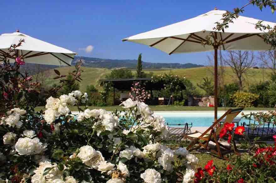VILLA TOSKANA Val d'Orcia bis 10+5 Pers. - privater Pool